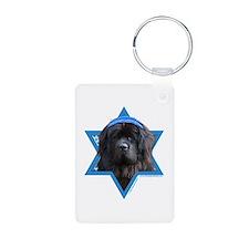 Hanukkah Star of David - Newfie Keychains