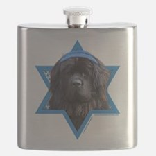 Hanukkah Star of David - Newfie Flask