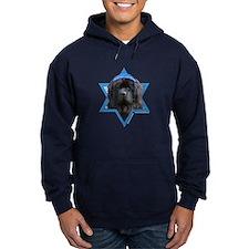 Hanukkah Star of David - Newfie Hoodie