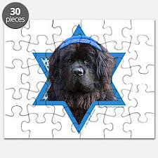 Hanukkah Star of David - Newfie Puzzle
