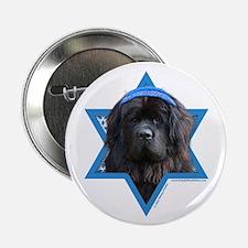 "Hanukkah Star of David - Newfie 2.25"" Button (10 p"