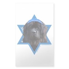 Hanukkah Star of David - Newfie Decal