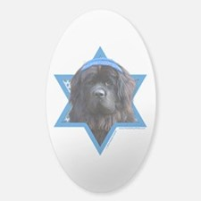 Hanukkah Star of David - Newfie Decal