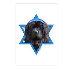 Hanukkah Star of David - Newfie Postcards (Package