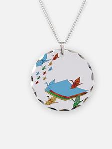 CranePaper-Flock10x10 Necklace