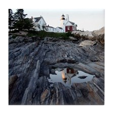 Pemaquid Reflection Tile Coaster