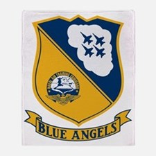 Blue Angels Insignia Throw Blanket