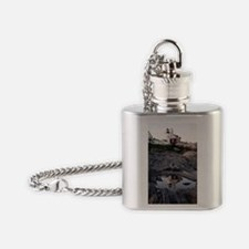 2-Pemaquid Reflection Print Flask Necklace