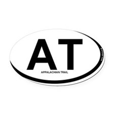 at oval rec 1 Oval Car Magnet