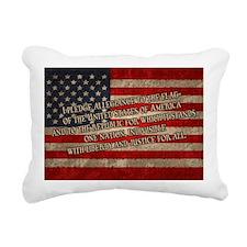 flag-pledge-OV Rectangular Canvas Pillow