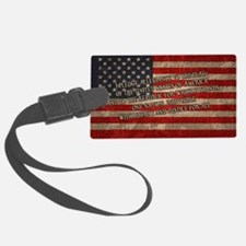 flag-pledge-OV Luggage Tag