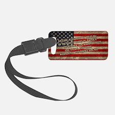 flag-pledge-OV Luggage Tag