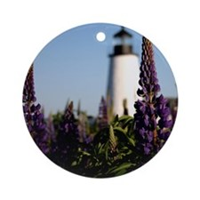 Pemaquid keepsake Round Ornament
