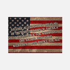 flag-pledge-OV Rectangle Magnet