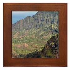 Kalalau_Valley Framed Tile