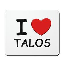 I love talos Mousepad