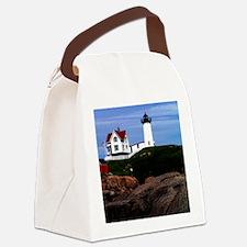 Nubble Print Canvas Lunch Bag