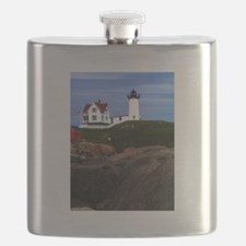 Nubble Print Flask