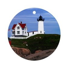 NUBBLE PRINTED Round Ornament