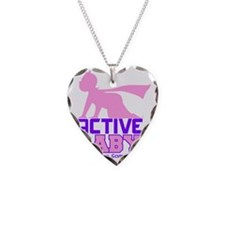 Active Baby Pink Necklace