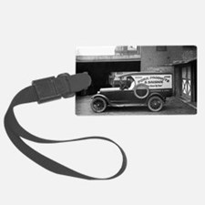 Meat Market Delivery Truck Luggage Tag