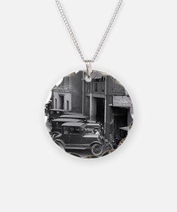 Ford Sales and Service Necklace