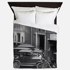 Ford Sales and Service Queen Duvet