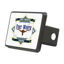 Fort Worth diamond Hitch Cover