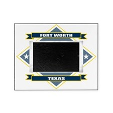 Fort Worth diamond Picture Frame