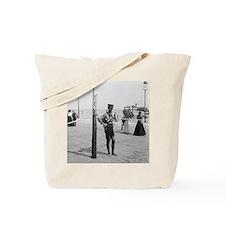 Brighton Beach Life Guard Tote Bag