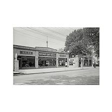 Early Chevrolet Dealership Rectangle Magnet
