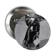 """Midget Flapper Girl 2.25"""" Button"""