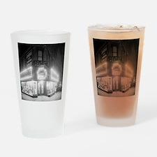 Corner Store At Night Drinking Glass