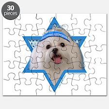 Hanukkah Star of David - Maltese Puzzle