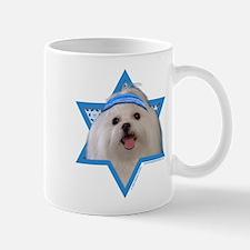 Hanukkah Star of David - Maltese Mug