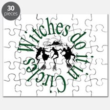 Witches in Circles Puzzle