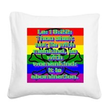 Le18-22 Square Canvas Pillow