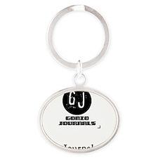 1-1 Oval Keychain