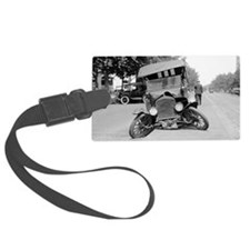 Crashed Ford Model T Luggage Tag