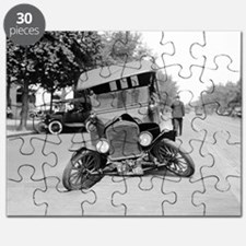 Crashed Ford Model T Puzzle