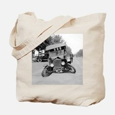 Crashed Ford Model T Tote Bag