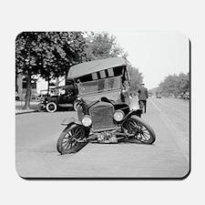 Crashed Ford Model T Mousepad
