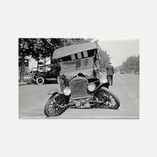 Crashed Ford Model T Rectangle Magnet