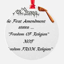 freedom of religion Ornament