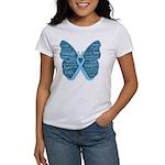Butterfly Prostate Cancer Women's T-Shirt
