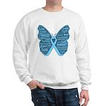 Butterfly Prostate Cancer Sweatshirt