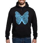 Butterfly Prostate Cancer Hoodie (dark)