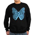 Butterfly Prostate Cancer Sweatshirt (dark)