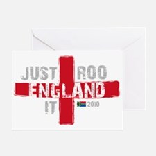 England Shirt Just Roo It Greeting Card