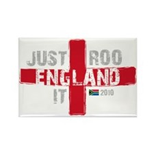 England Shirt Just Roo It Rectangle Magnet